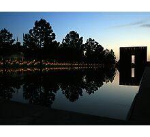 Oklahoma City National Memorial Photographic Print