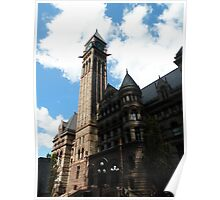 Old City Hall -Toronto Ontario Poster