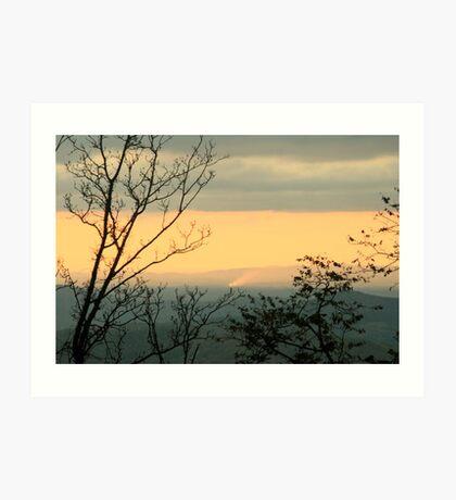 Blue Ridge Morning Art Print