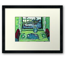 """Dinner For Two"" Framed Print"
