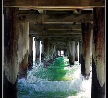 Seaford pier ,  under the bridge by jodz75