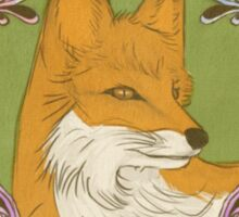 Paint Fox Sticker