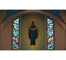 St. Mary's Ukrainian Catholic Church Interior... Photographic Print