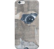 Berlin mural watching you iPhone Case/Skin