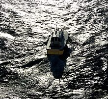 Pilot Boat Aramoana Dunedin NZ by Keith Richardson