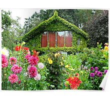 Lush Green House Poster