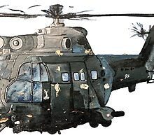 Gunship Indian Air Force by rooosterboy