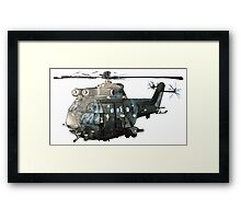 Gunship Indian Air Force Framed Print