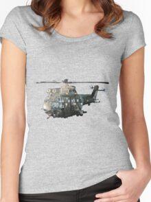 Gunship Indian Air Force Women's Fitted Scoop T-Shirt
