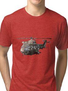 Gunship Indian Air Force Tri-blend T-Shirt