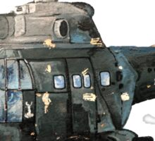 Gunship Indian Air Force Sticker