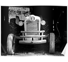 Ford Farming Tractor Poster