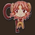 Big Head Chibi Aries by Kuroitenshi