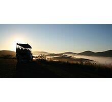 Sunrise - HluHluwe/Umfolosi Reserve - KZN -RSA Photographic Print