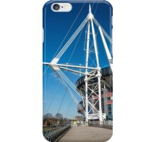 Wales Millennium Stadium Cardiff iPhone Case/Skin