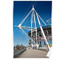 Wales Millennium Stadium Cardiff Poster