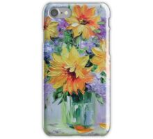 Bouquet of sunflowers iPhone Case/Skin