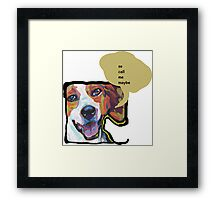 American Foxhound Bright Colorful Pop Dog Art Framed Print