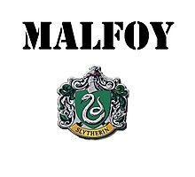 Malfoy Photographic Print