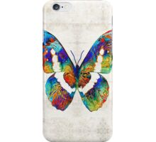 Colorful Butterfly Art by Sharon Cummings iPhone Case/Skin