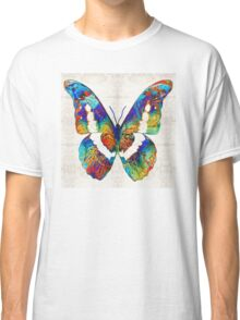 Colorful Butterfly Art by Sharon Cummings Classic T-Shirt