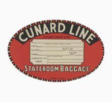 Vintage Luggage Label 1 Kids Clothes