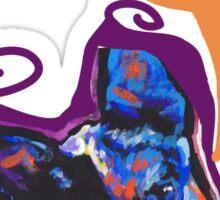 Australian Cattle Dog Bright colorful pop dog art Sticker