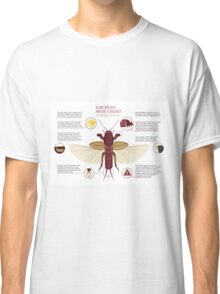 Infographic: European Mole Cricket Classic T-Shirt