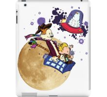 Calvin and Hobbes Moon iPad Case/Skin