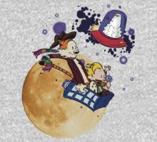 Calvin and Hobbes Moon Kids Clothes