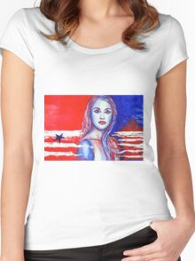 Liberty American Girl Women's Fitted Scoop T-Shirt