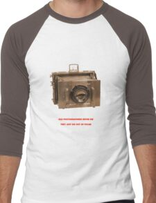 OLD PHOTOGRAPHER Men's Baseball ¾ T-Shirt