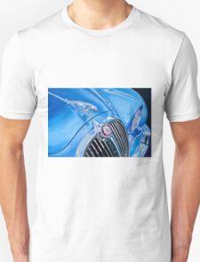 Classic Car in Blue T-Shirt