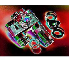 Leica M2 Camera Set  Photographic Print