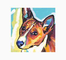 Basenji Bright colorful pop dog art Unisex T-Shirt