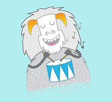 I like to play — WHITE snow yeti  by jazzydevil