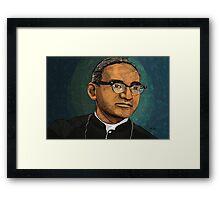 arnulfo romero Óscar Romero Framed Print