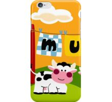 Laundy Cows iPhone Case/Skin
