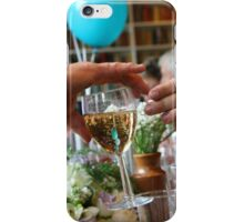 Pass the champagne iPhone Case/Skin