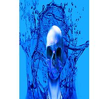 Alien Blue Photographic Print