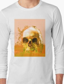 Golden Skull in Water T-Shirt