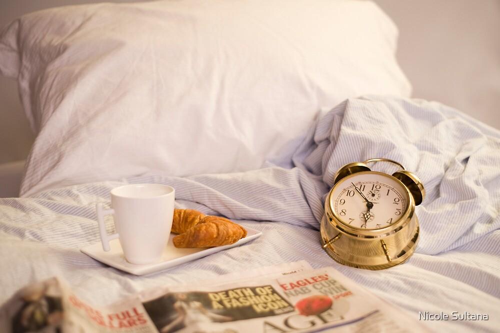 Morning sleep-in by Nicole Sultana