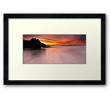 Trigg Island Rush Framed Print