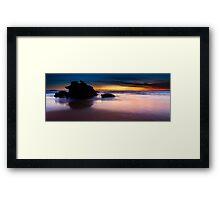 Outcrop Beach II Framed Print