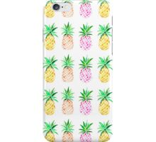 Watercolour Pineapples iPhone Case/Skin