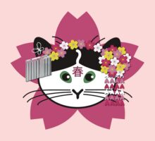 Cherry-blossom Cat by nekineko