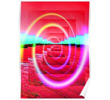 Red Abstract 2 Poster