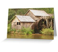 MABRY MILL - Front view ^ Greeting Card