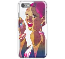 Into The Mic - Singing Beauty iPhone Case/Skin