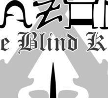 Wrath - [ the Black Dagger Brotherhood ] Sticker